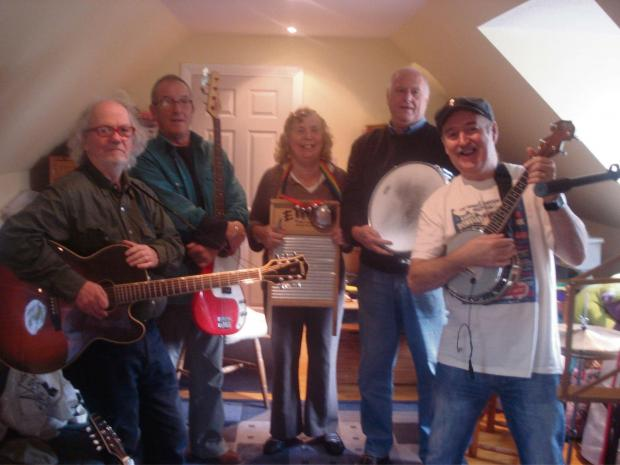 Music at The Lounge event will be provided by the 6-5 specials skiffle-billy band. SP