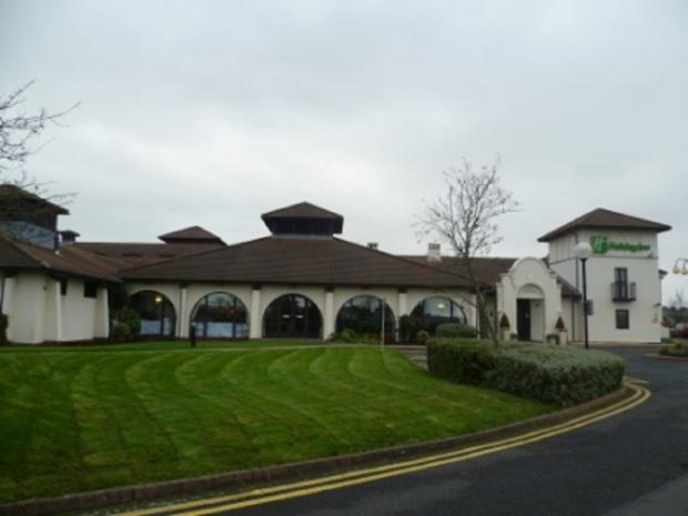 UP FOR SALE: The Holiday Inn, in Kidderminster Road, has been put for sale for £3.95 million. SP