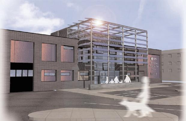 Bromsgrove Advertiser: NEW STATION: Bromsgrove's new combined police and fire station is set to open in May, it has been revealed. SP