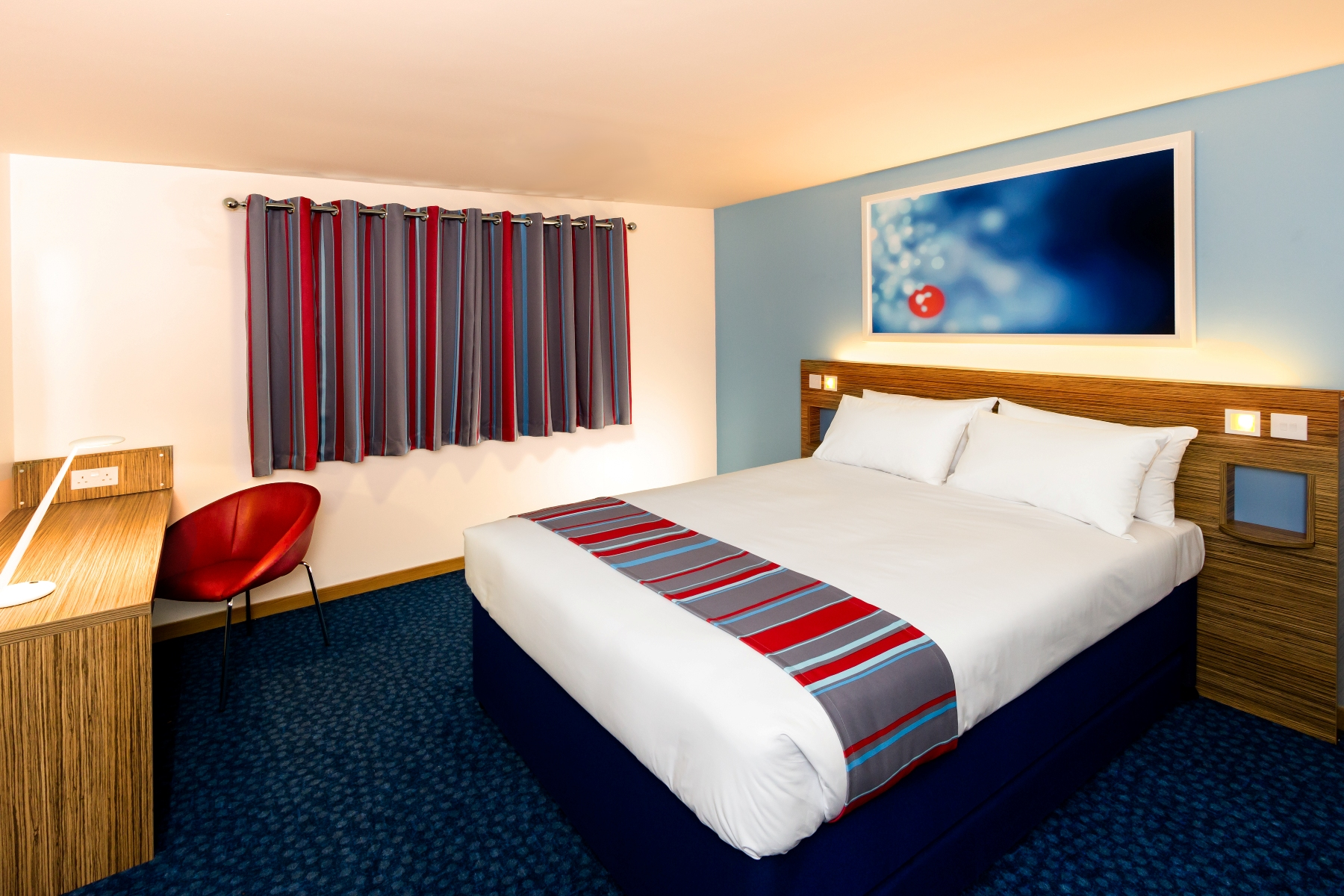 REVAMP: Bromsgrove's Travelodge hotel has undergone a major refurbishment, including new rooms. SP