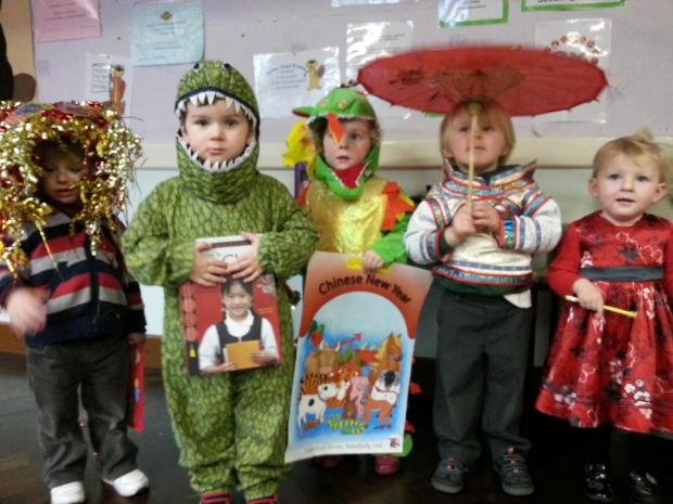NEW YEAR: Rednal youngsters have been celebrating Chinese New Year. Ref:s