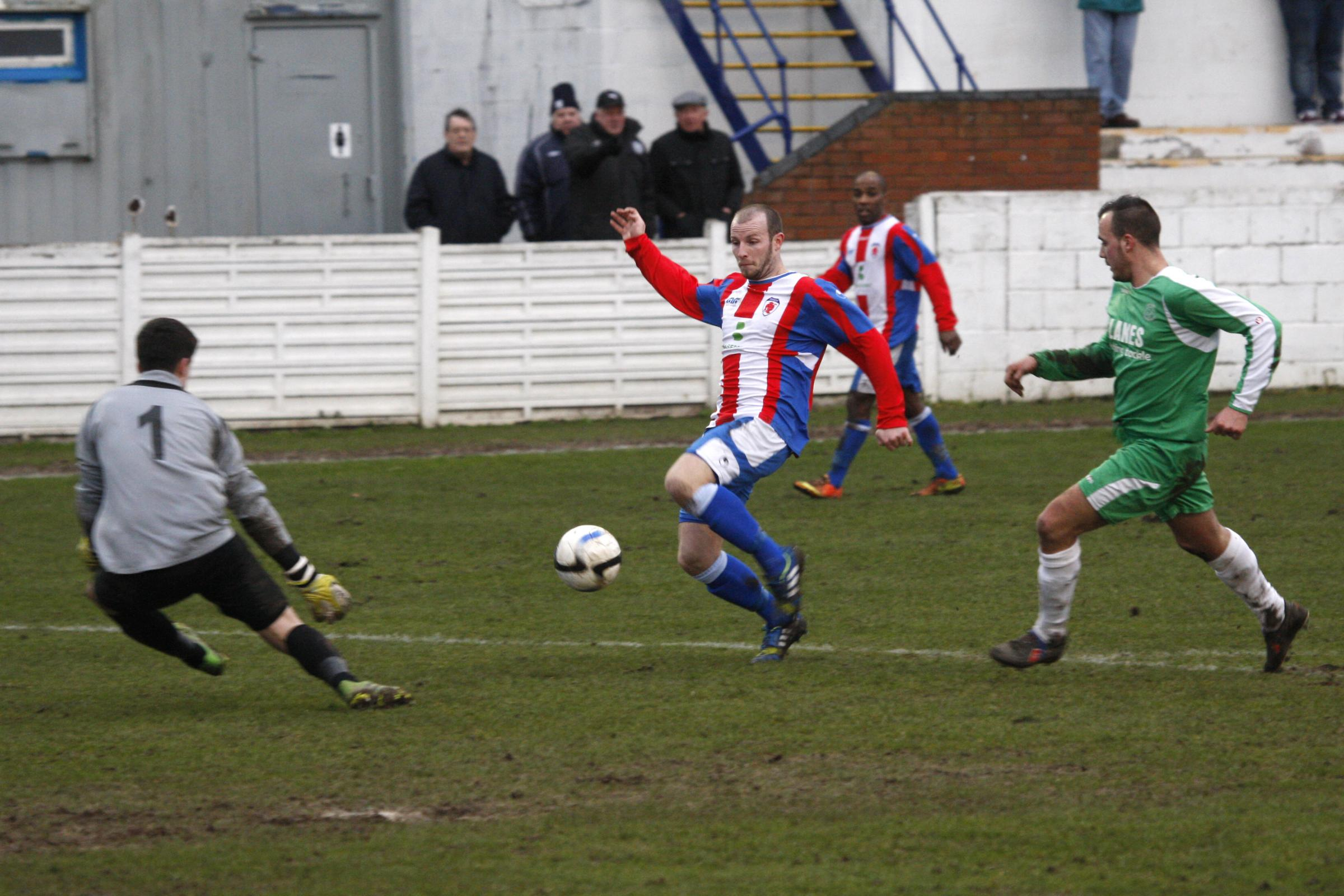 Action from Sporting's win over Coventry. Picture: CRAIG ROSS