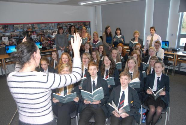 SING UK: Youngsters from South Bromsgrove High School will be taking part in a special commemorative concert later this year. SP