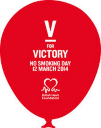 V For Victory is theme of this year's No Smoking Day