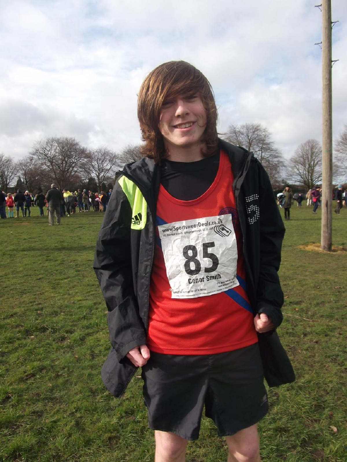 Under-15s Champions: Bromsgrove and Redditch AC member Conor Smith won the West Midlands title.