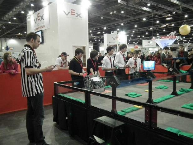 INTO THE FINAL: North Bromsgrove High School students have made it through the regional qualifier to secure a place in the final of the World Robotics Championships. SP