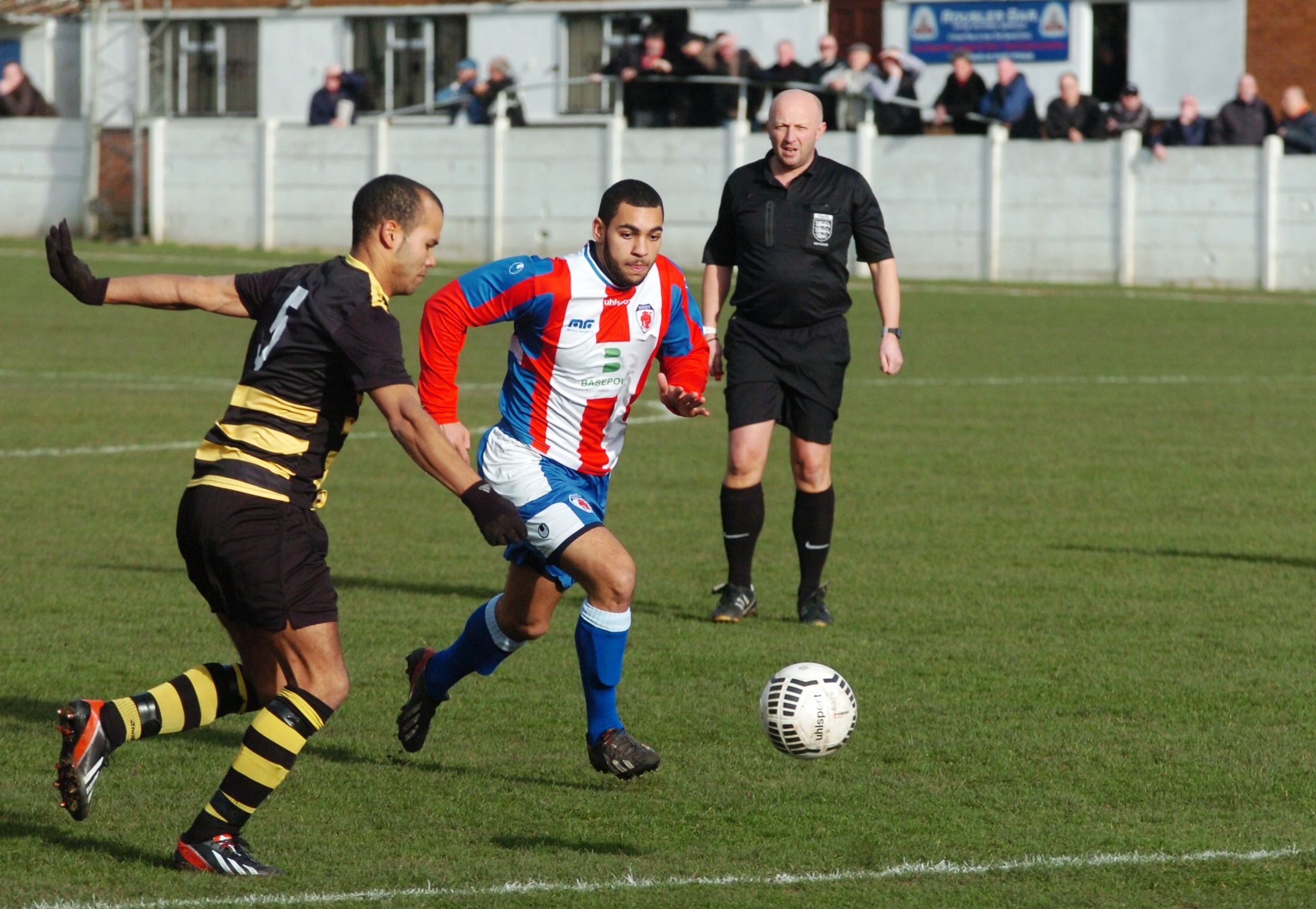Action from Sporting's win over Atherstone. Picture: MARIE MYERS