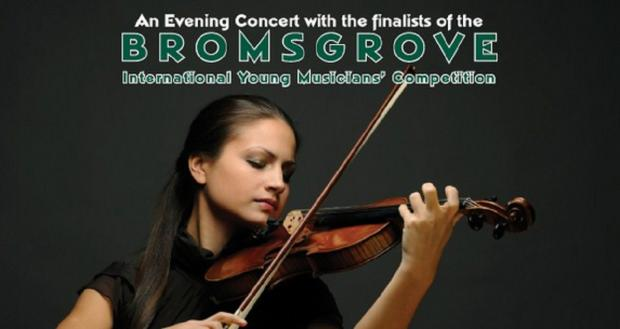 COMPETITION: Townsfolk are being invited to this year's Bromsgrove International Young Musicians' Competition being held in April. SP