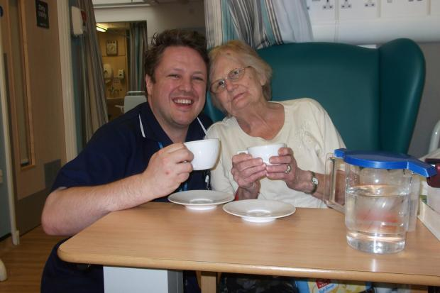 PARTY TIME: Tea parties were held at various Worcestershire Health and Care NHS Trust hospitals, including Bromsgrove's Princess of Wales, earlier this month. SP