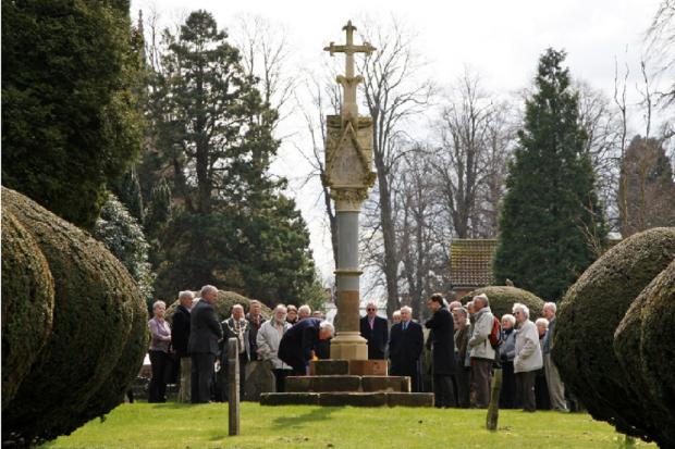 Bromsgrove Advertiser: HOUSMAN CELEBRATED: The Housman Society organised a