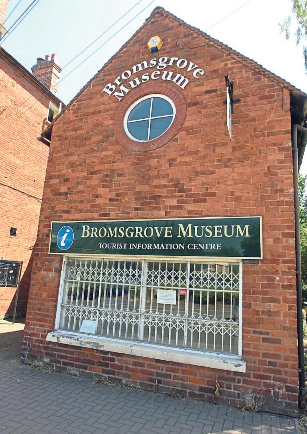 Bromsgrove Advertiser: MUSEUM SALE:  Bromsgrove District Council's cabinet has decided to make the former Bromsgrove Museum building available to purchase or rent. SP