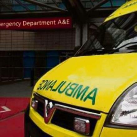 Demand on Ambulance service varies over Easter
