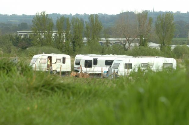 Travellers on Buntsford Drive