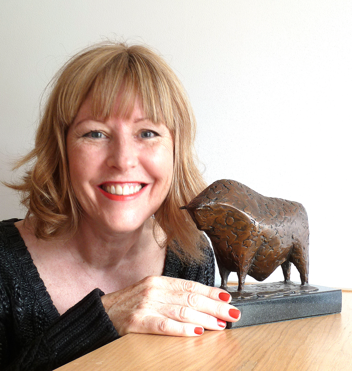 LEGEND: Malvern sculptor Caro Sweet and her aw