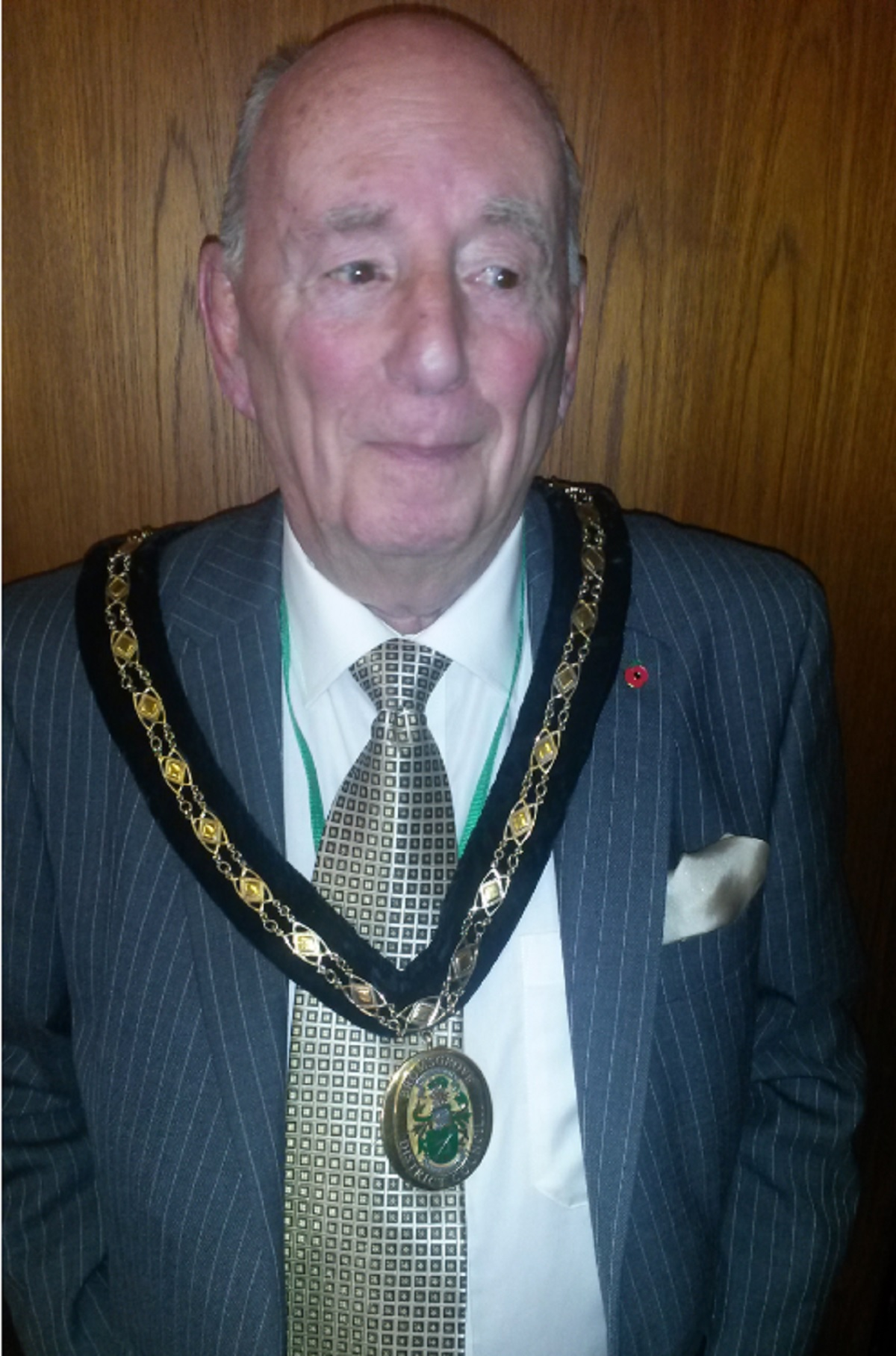 FIRST CITIZEN: John Ruck has been elected the civic head of Bromsgrove District Council. SP