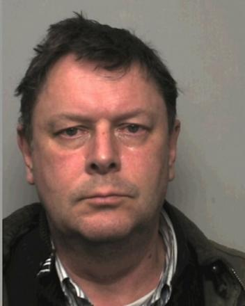JAILED: Jonathan O'Brien, who sexually abused pupils at a school near Bromsgrove, has been jailed for 13 years. SP
