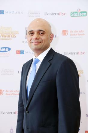 SPECIAL GUEST: Bromsgrove MP and Culture Secretary, Sajid Javid, was the special guest at the Asian Business awards held earlier this month. SP