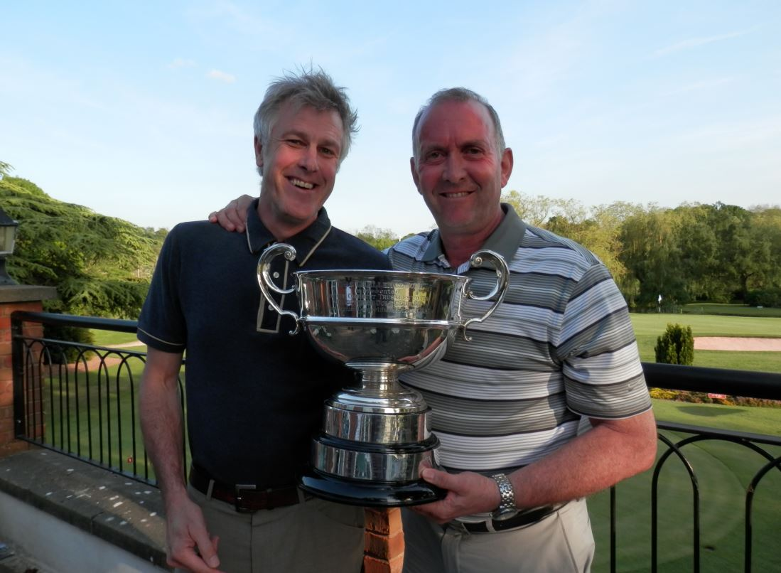 Corbett Bowl winners Nigel Bache and Dave Cook.