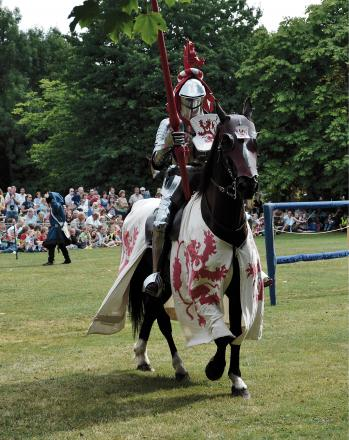 MEDIEVAL FUN: A traditional jousting tournament is being held at a Bromsgrove museum this weekend. SP