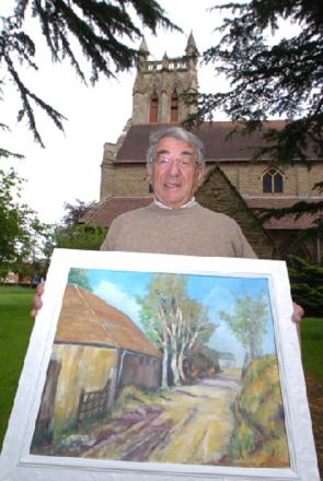 Tony Turpin is inviting art lovers to this year's Bromsgrove Arts Society exhibition, which forms part of Bromsgrove Festival's fringe.   Buy this photo BMM241402b