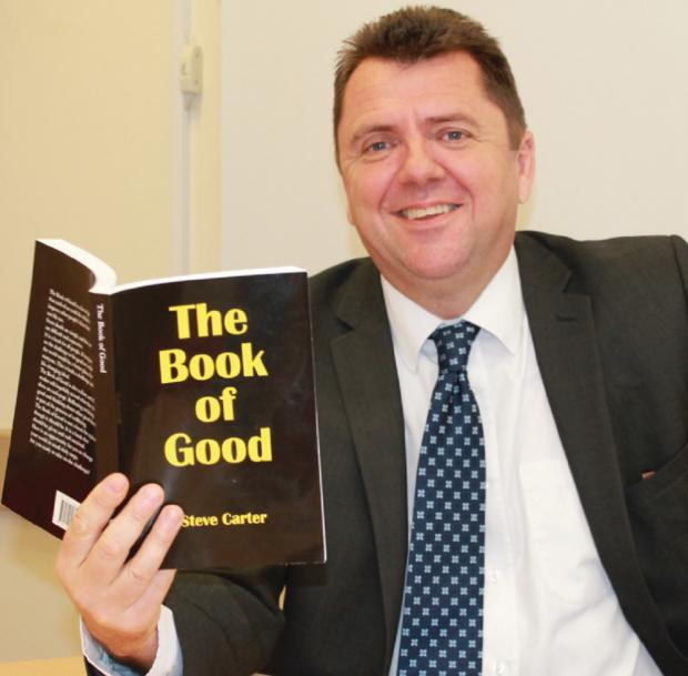 GOOD BOOK: Steve Carter, who grew up in Bromsgrove, has seen his work, The Book of Good, published. SP