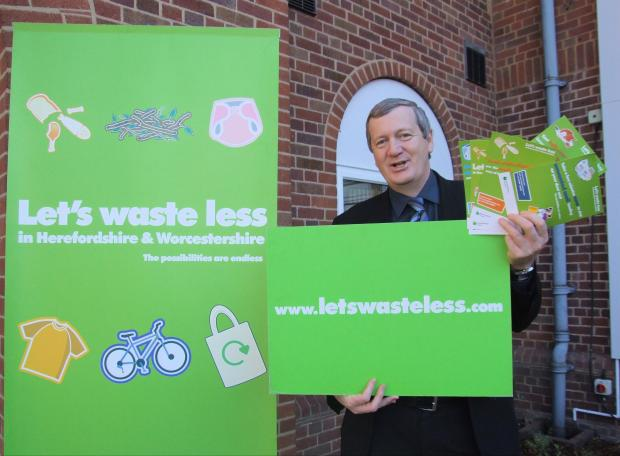 Bromsgrove Advertiser: Councillor Anthony Blagg, cabinet member for environment and waste. SP