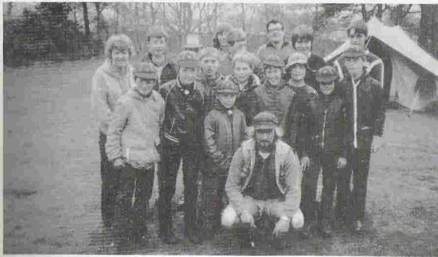 Bromsgrove Advertiser: SCOUTING FOR BOYS: 6th Kidderminster Scout Group on a Whitsun camp at Rhydd Covert in 1983.