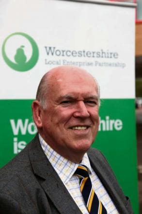 Peter Pawsey, from Worcestershire's Local Enterprise Partnership.