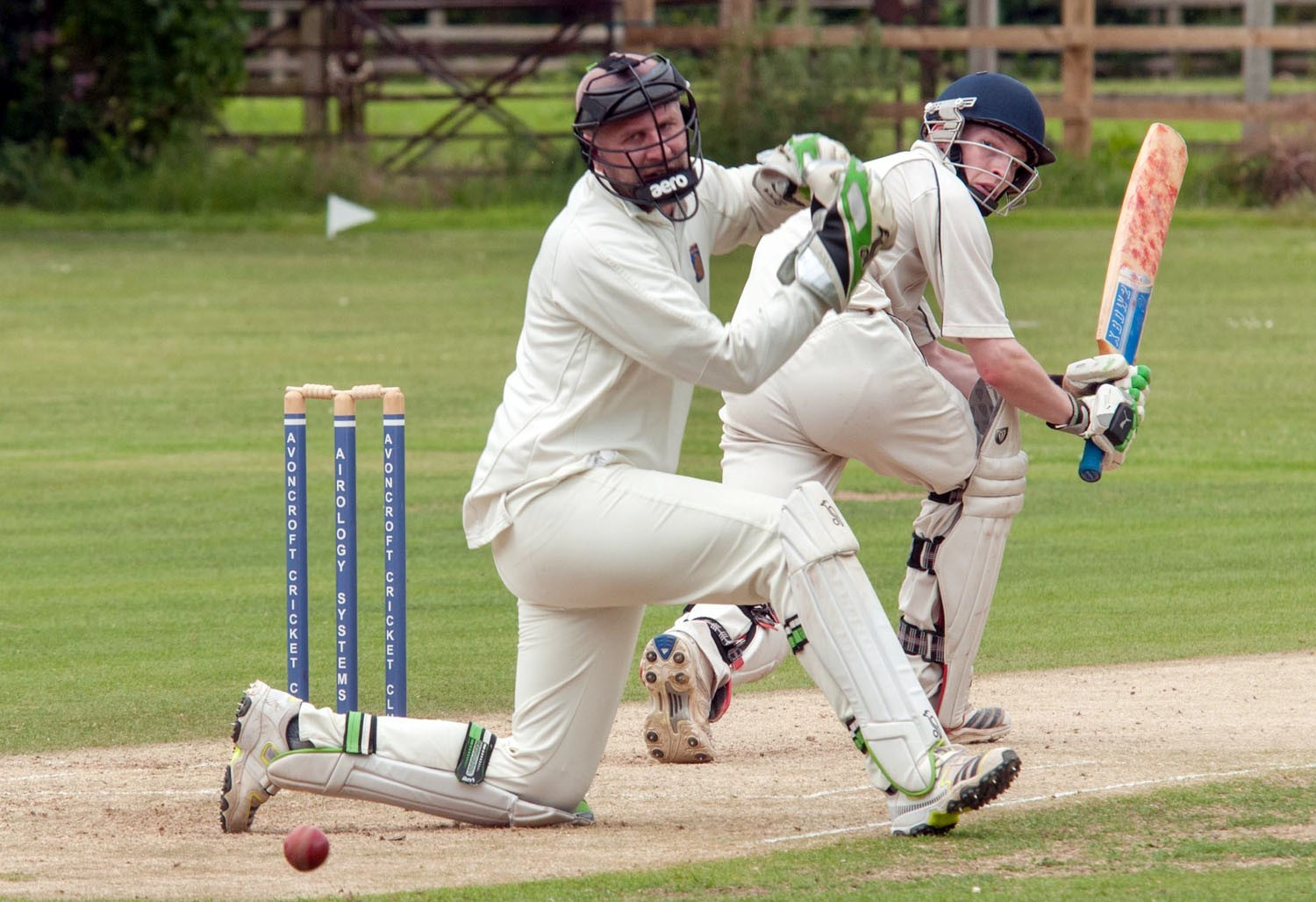 BMH291405c Avoncroft v Stourport: Will Sach batting for Stourport  (8225037)
