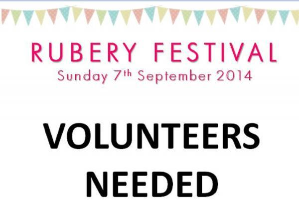 Volunteers needed to support this year's Rubery Festival