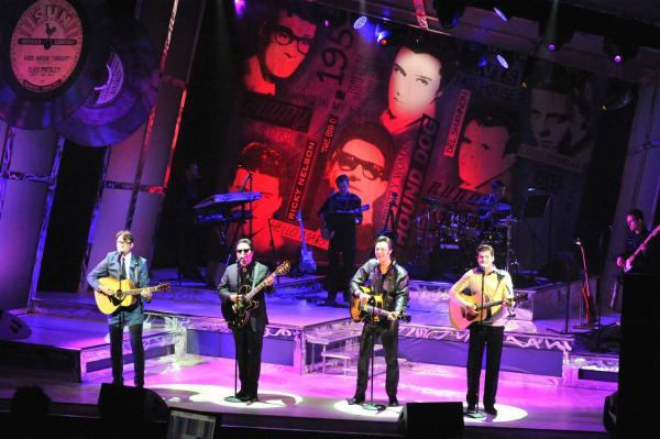 READY TO ROCK: The touring production of Rock 'n' Roll Heaven arrives in Malv