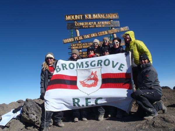 FUNDRAISING: A successful attempt to climb Mount Kilmanjaro by fundraisers is being followed by a world record attempt at Bromsgrove Rugby Club this weekend. SP