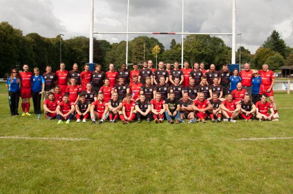 WORLD RECORD: Bromsgrove Rugby Club attempted to break the world record for the longest game of rugby ever held during the Bank Holiday weekend. SP