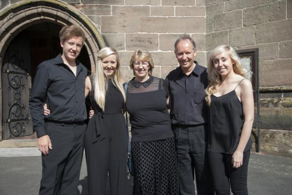 CONCERT: Alastair, Cathy, Charlotte, Emily and Ben Moseley will be performing a concert at St John's Church open day in September. SP
