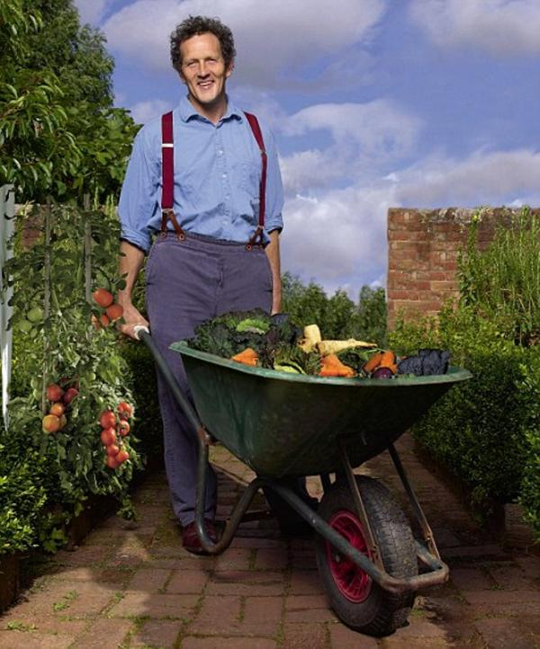 DIG THIS: Monty Don will be at the Malvern Autumn Show.