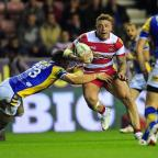 Bromsgrove Advertiser: Josh Charnley among the tries for Wigan