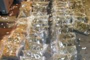 DRUGS: Cannabis seized at a haulage yard in the Walsall area as part of Operation Goal. The yard was duped into handling pallets and had no knowledge of what was contained within.