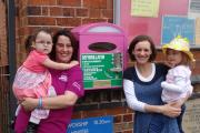 Celebrating the addition of a Community Public Access Defibrillator at Lickey End Playgroup
