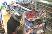 Helmet clad thief sought after Halesowen robbery