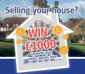 Bromsgrove Advertiser: Selling Your House? - Win £1,000 towards your estate agent fees!