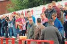 Bromsgrove Sporting fans have been out in force over Christmas.