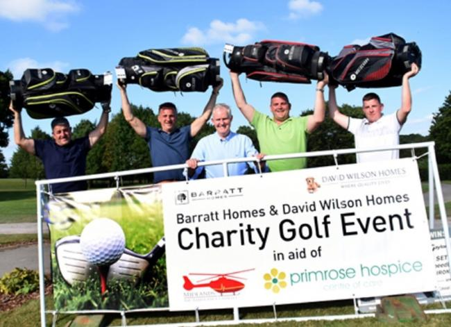 Businesses club together for charity golf contest