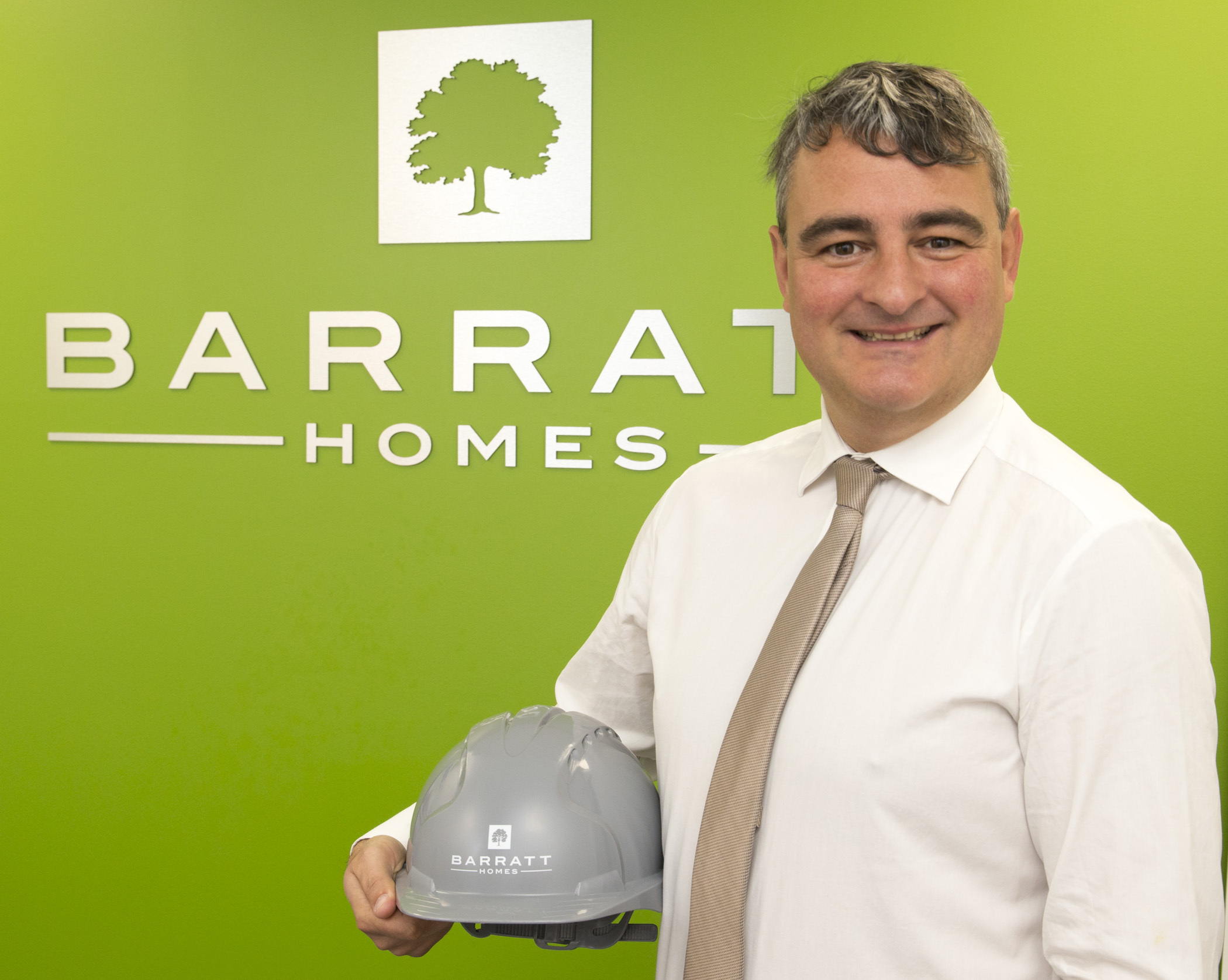 Barratt Homes West Midlands' commercial director Darren Foster has celebrated 20 years with the Halesowen-based firm.