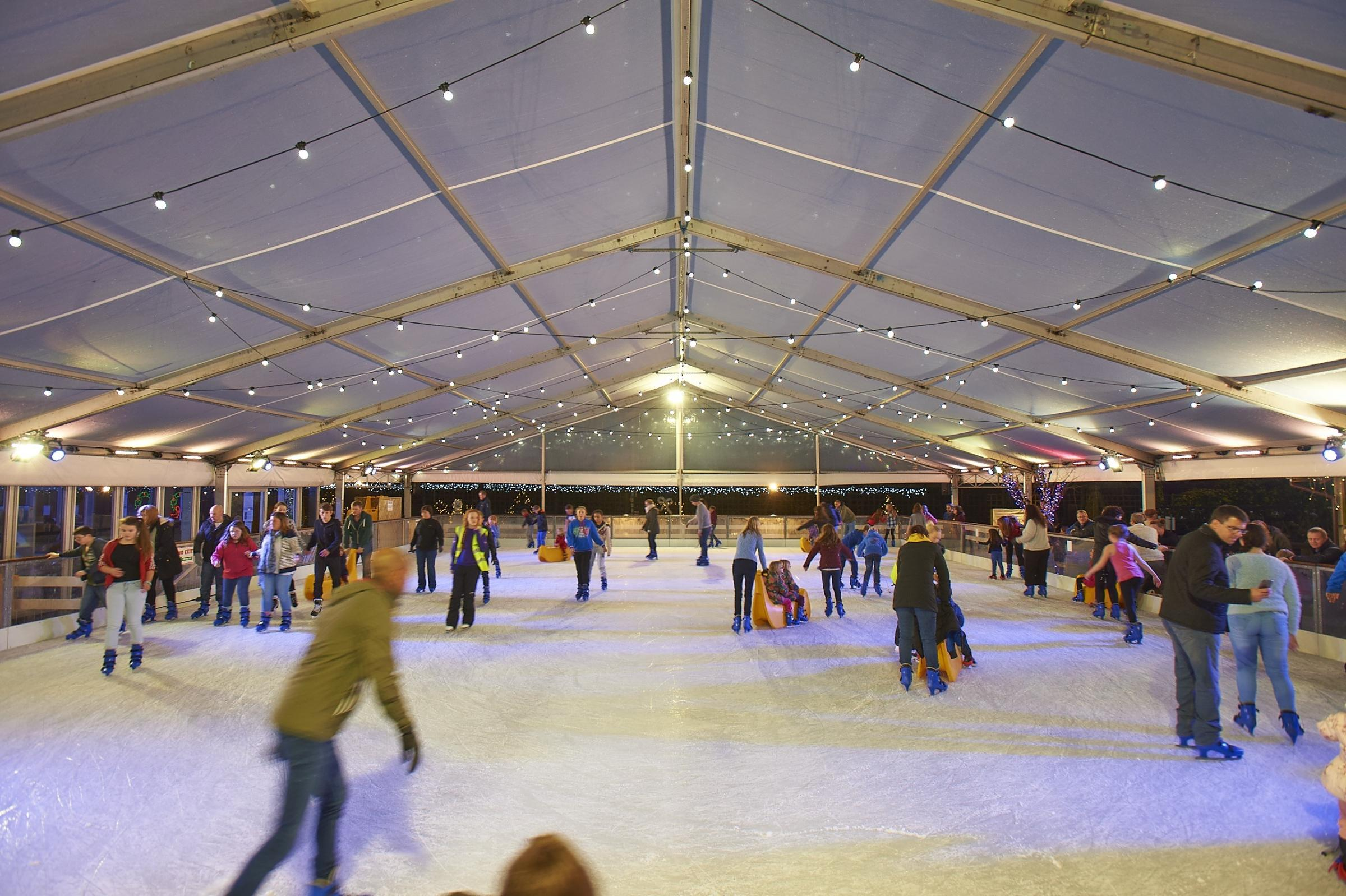 REOPENED: Webbs ice rink