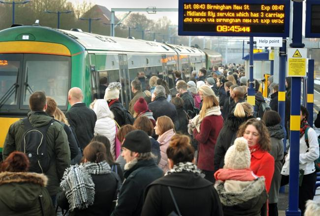 Plans to quadruple the number of trains between Birmingham and Bromsgrove have been delayed, again