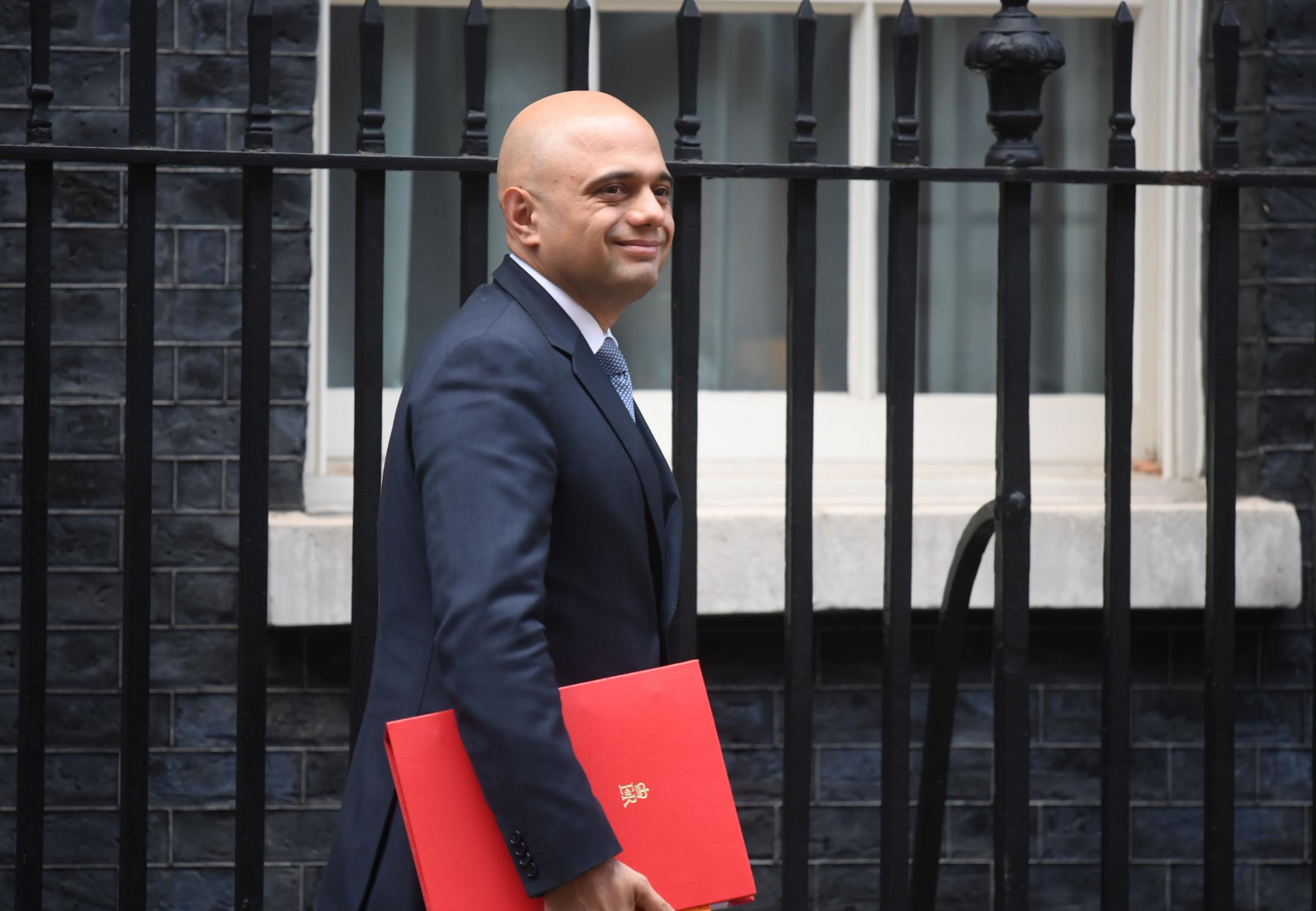 Bromsgrove MP Sajid Javid after the emergency Cabinet meeting on Thursday (Photo by Victoria Jones/PA Wire/PA Images)