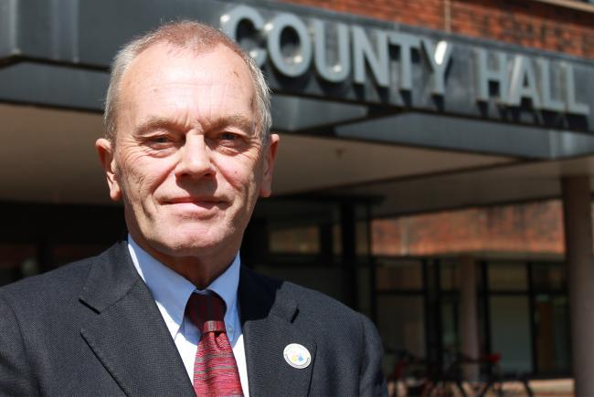 Interim chief executive of Worcestershire County Council Steve Stewart