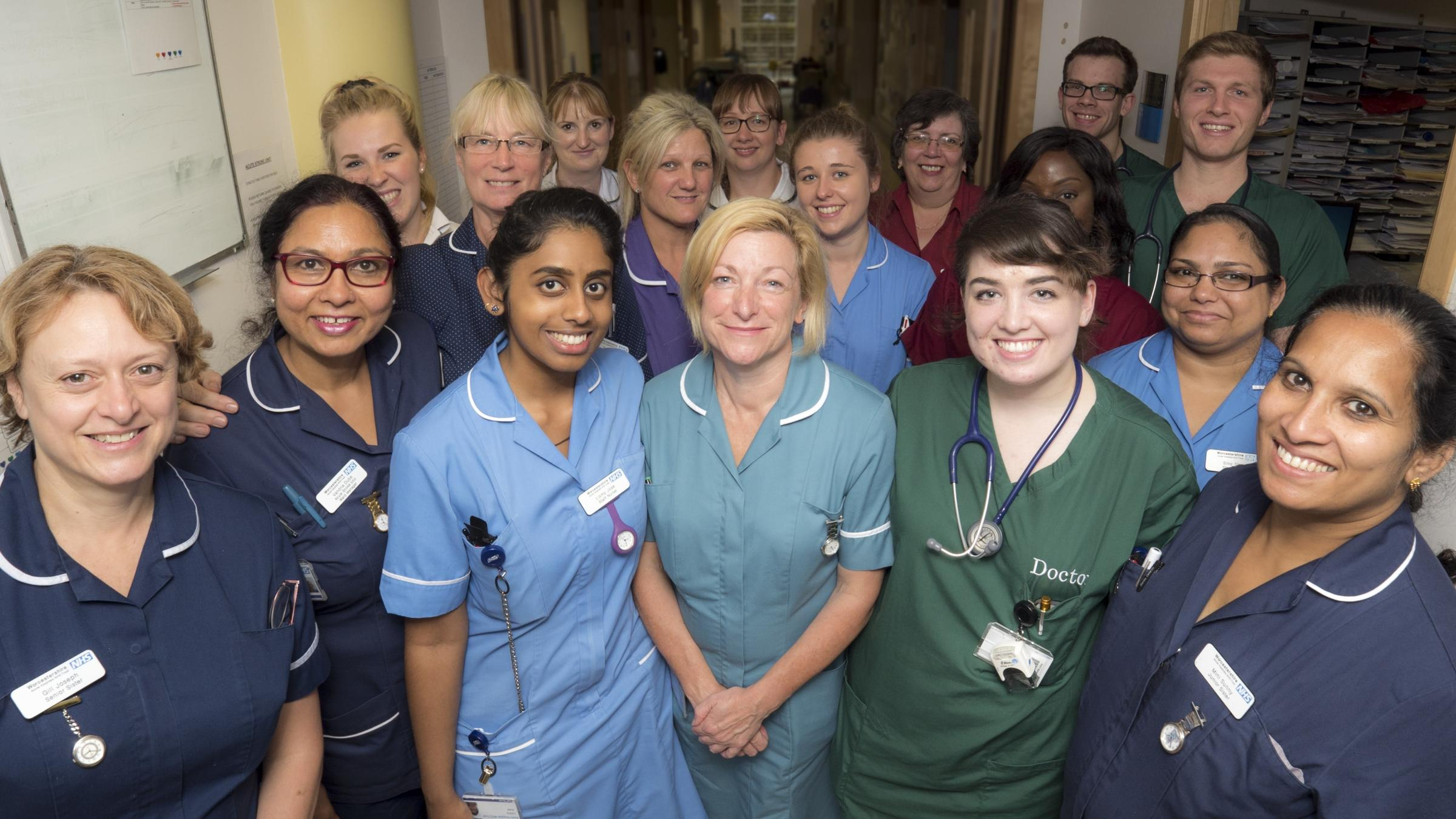 Staff at Worcestershire Acute Hospitals NHS Trust