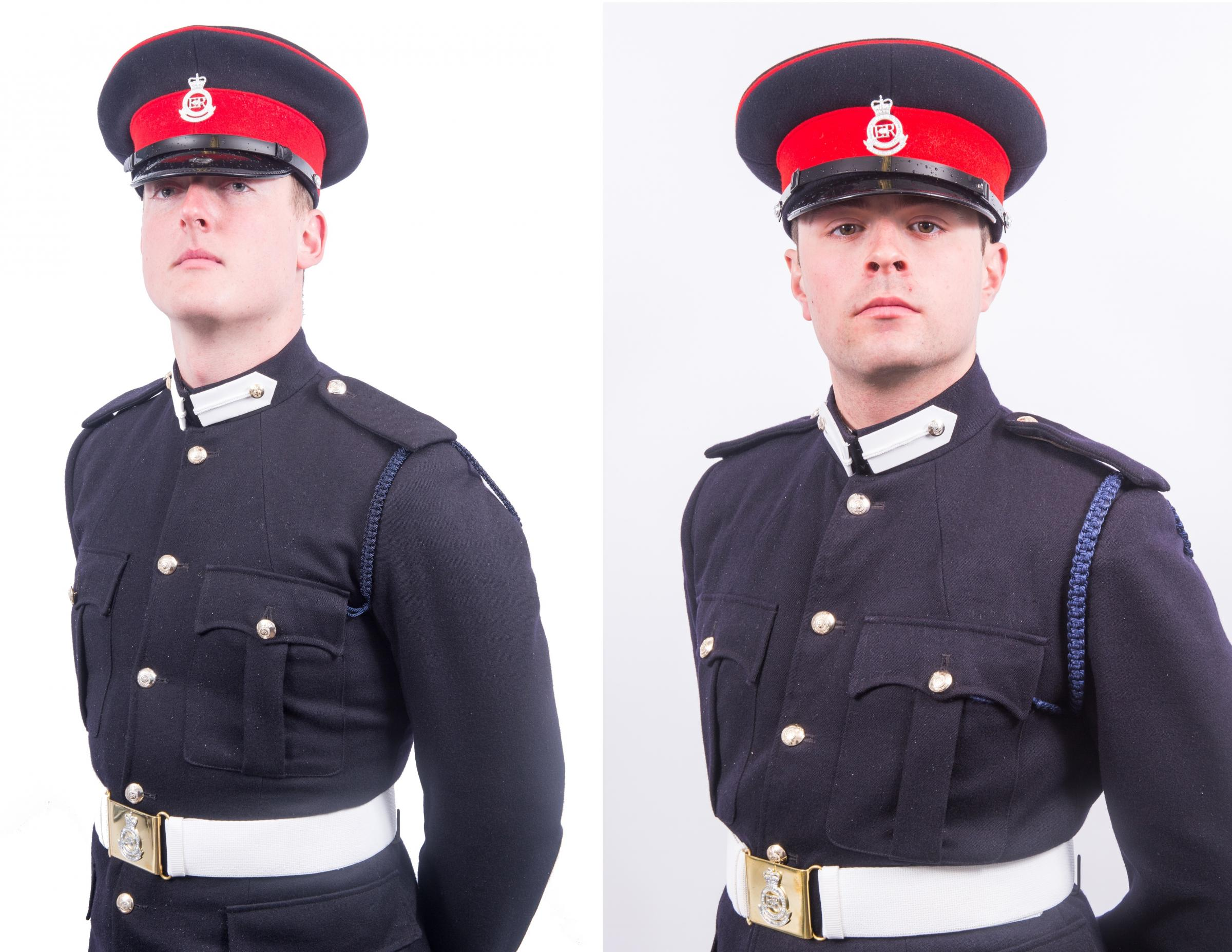 Officer Cadet Alexander Albutt and Gregory Knowles (Photos by Home Town Stories Photographs)