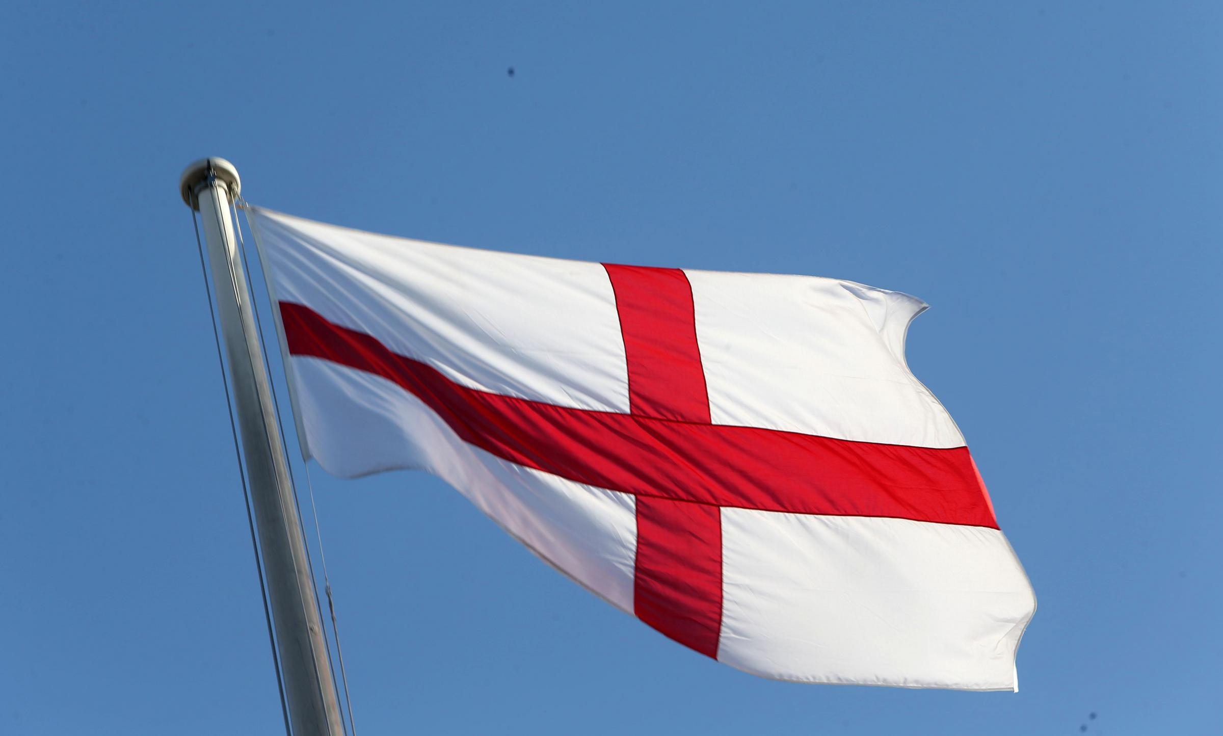 The flag of St George (Photo by Steve Parsons/PA Archive/PA Images)